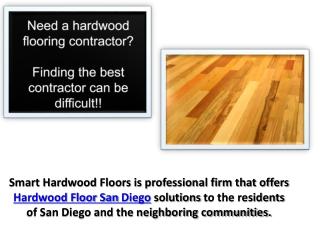 Hardwood Floor San Diego