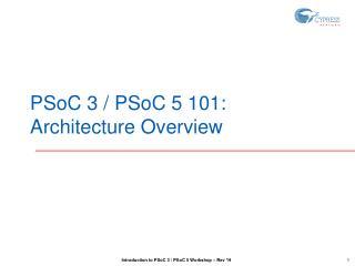 PSoC 3