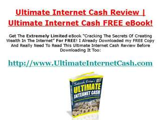 Saktesh Ethan Ultimate Internet Cash Review