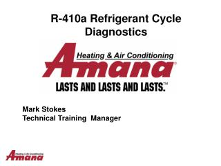 R-410a Refrigerant Cycle Diagnostics