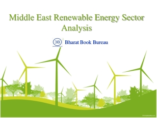 Middle East Renewable Energy Sector Analysis