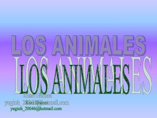 LOS ANIMALES Rene Gomez