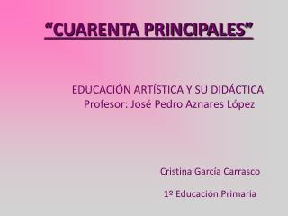 CUARENTA PRINCIPALES