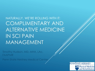 Acupuncture for  Neuropathic Pain