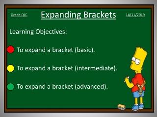 Expanding Brackets