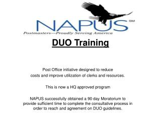 DUO Training