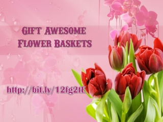Gift Beautiful Flower Basket