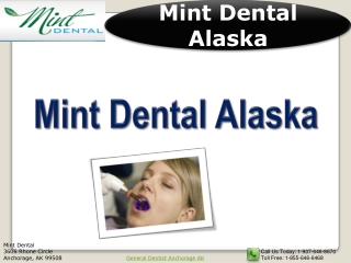 Cosmetic Dentistry in Anchorage Alaska