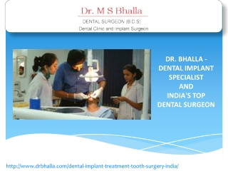 Dental Implant India
