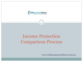 Income Protection Comparison Process