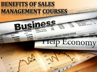 The Best Things About Sales Management Training