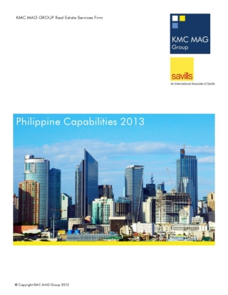 KMC MAG Group Capability Statement