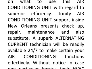 AC Repair New Orleans