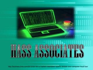 U.S. 'HACKER' CRACKDOWN SPARKS DEBATE OVER COMPUTER-FRAUD LA