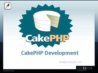 Cakephp Consultant