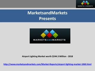 Airport Lighting Market
