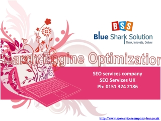 SEO Company Services