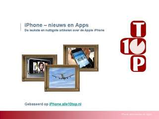 iPhone - nieuws en apps