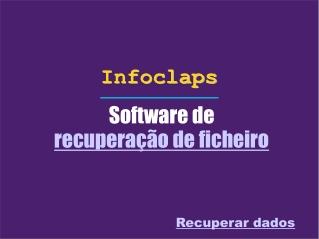 O que é um software de recuperação de ficheiro?