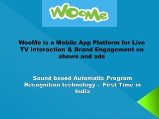 WooMe - Live TV interaction App Platform