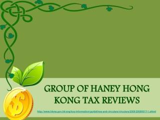 Hong Kong Monetary Authority - Tax Evasion