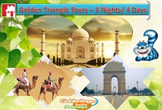 4 Days 3 Nights Golden Triangle Delhi Agra Jaipur Tour