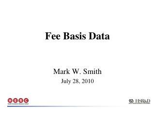 Fee Basis Data