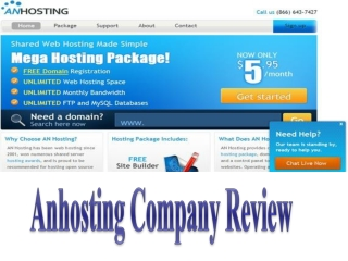 Anhosting Company Review