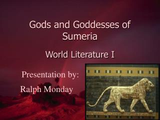 Gods and Goddesses of Sumeria