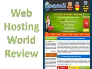 Web HostingWorld Review