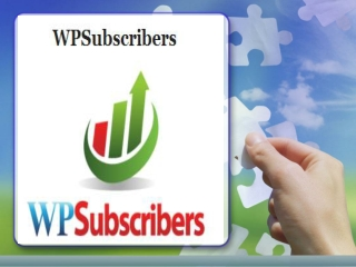 WPSubscribers Plugin