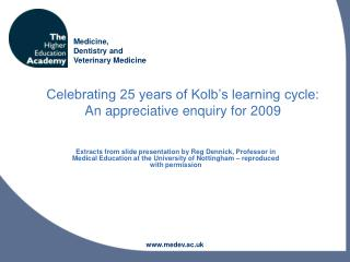 Celebrating 25 years of Kolb