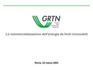 La commercializzazione dell energia da fonti rinnovabili
