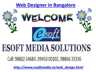 Web Designer in Bangalore