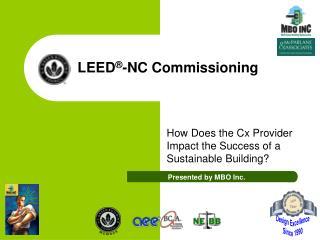 LEED -NC Commissioning