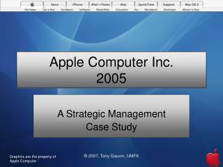 Apple Computer Inc. 2005