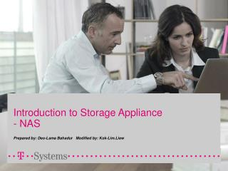 Introduction to Storage Appliance - NAS