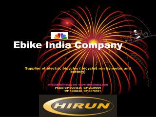 Ebike India Company