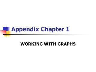 Appendix Chapter 1