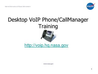 Desktop VoIP Phone