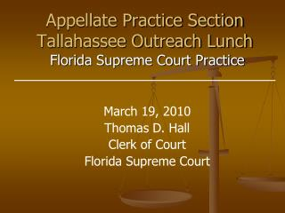 Appellate Practice Section Tallahassee Outreach Lunch