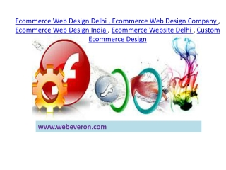 Ecommerce Website Delhi @ 9311335577