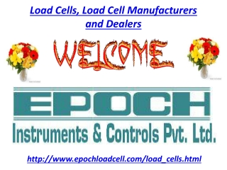 Load Cells, Load Cell Manufacturers and Dealers