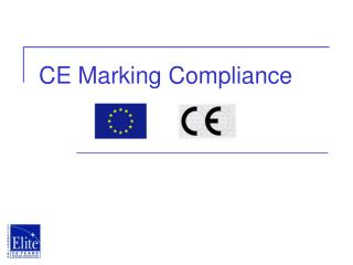 CE Marking Compliance