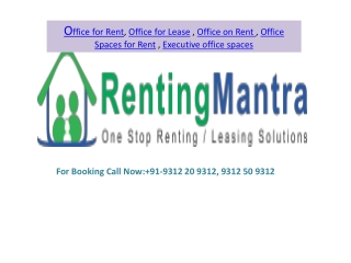 Office Space for Rent @ 9312 20 9312