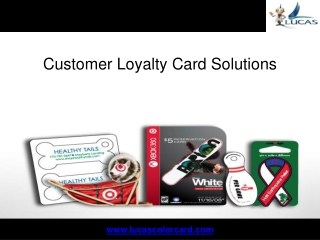 Customer Loyalty Card Solutions