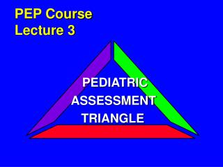 PEP Course Lecture 3