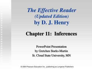 The Effective Reader Updated Edition
