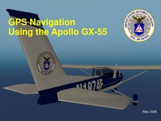 GPS Navigation Using the Apollo GX-55
