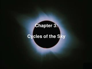 The Cycles of the Moon